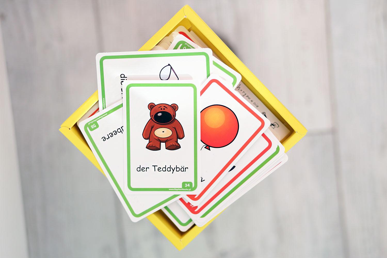 niemieckie karty obrazkowe