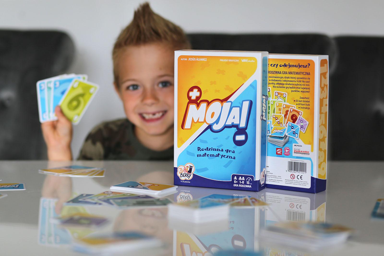 Rodzinna gra matematyczna Moja! – matematyka dla dzieci?