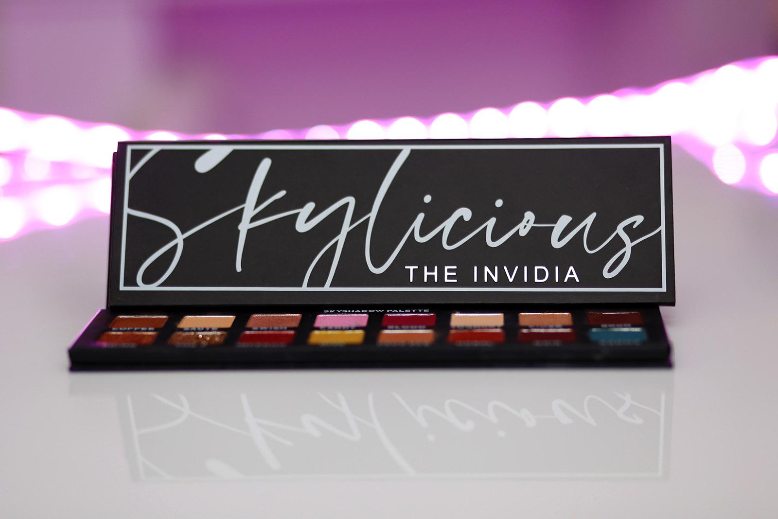 Skylicious The Invidia, paleta cieni do powiek w odcieniach brązu. Recenzja